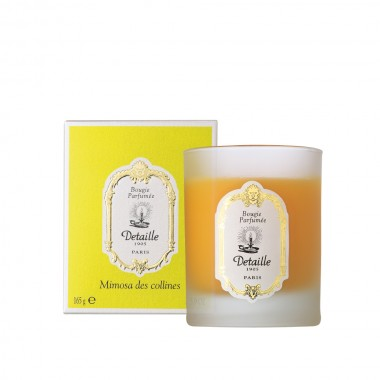 Delicately scented candle Mimosa des Collines