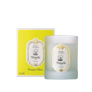 Delicately scented candle Bouquet Blanc