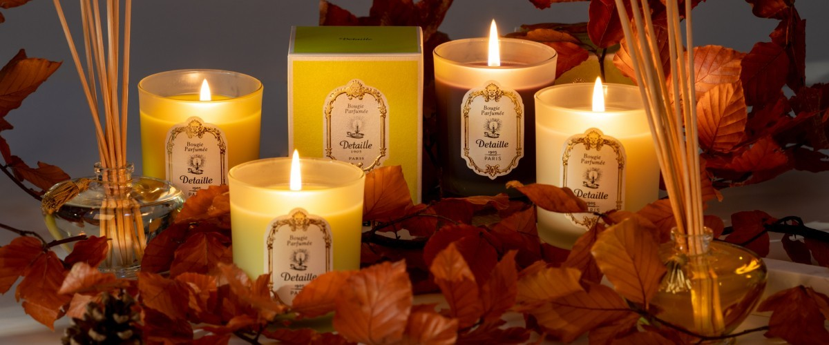 Candles and Room Fragrances - Maison Detaille French Parisian Perfumes since 1905
